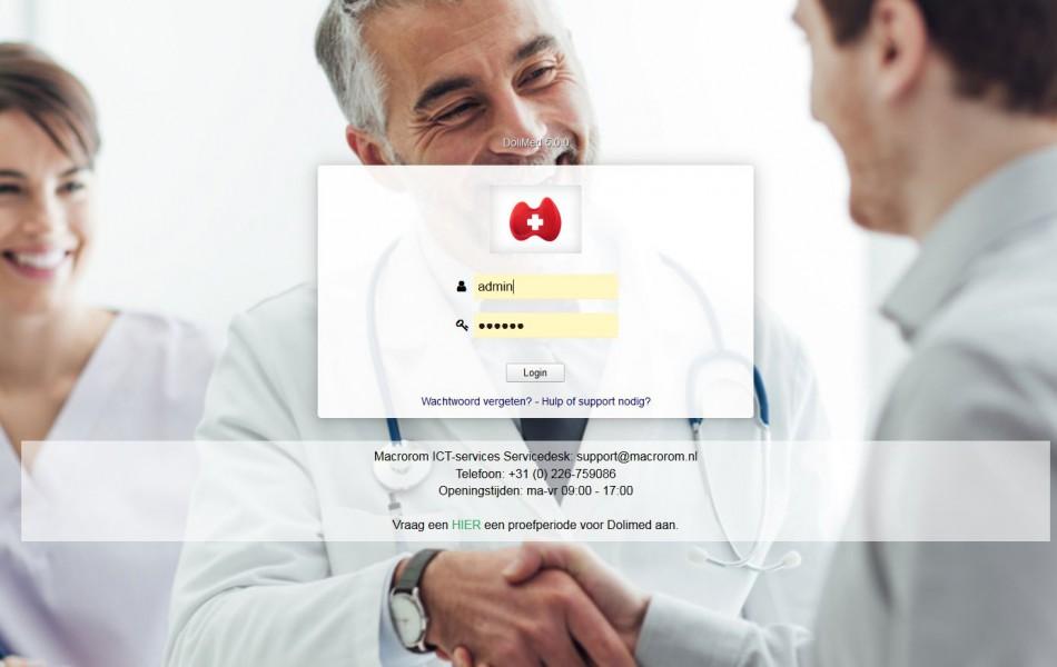 Probeer Dolimed ERP/CRM